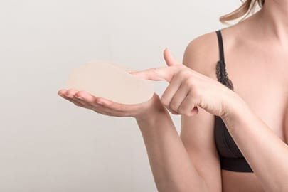 breast implants surgery patient